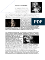 Textual Analysis of Lady Gaga