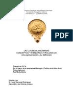 Las Lucernas Romanas Conceptos y Principios Tipológicos Una Aproximación a Su Definición