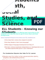 supporting ell students in math social studies and science