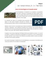 1 Tema 1 La Ciencia y La Tecnología en El Mundo Actual