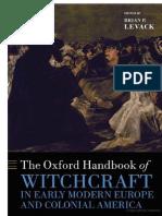 The Oxford Handbook of Witchcraft