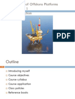 Design of Offshore Platforms