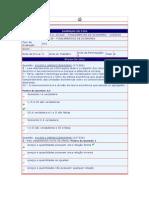Fundamentos de Economia - (4) - AV1 - 2011.3