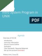 CSUS - Unix Intro-Week 1(1)