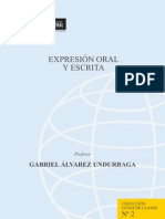 Expresion Oral y Escrita Guia