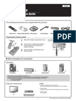 RX-V467 Quick Reference Guide