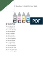 Program Reset Ink Level Epson l100 l200 l800 - Teamtech