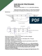 7. Perencanaan Balok Prategang Untuk Jembatan