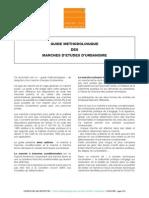 Guide Méthodologique Des Marchés d'Éetude d'Urbanisme