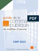 Guide_commande_publique de Maitrise D_oeuvre 13novembre 2012