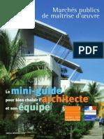 Mini Guide Pour Bien Choisir L_architecte Et Son Équipe_Décembre 2014_2