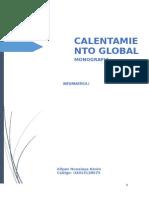 Calentamiento Global Monografia