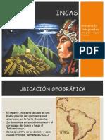 Incas y Territorio