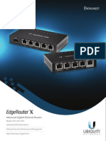 Ubiquiti ER-X-SFP-US Data Sheet