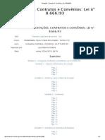 Licitações, Contratos e Convênios_ Lei Nº 8