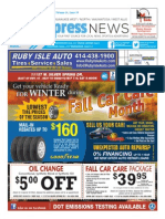 Milwaukee West, North, Wauwatosa, West Allis Express News 10/01/15