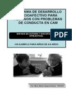 Programa de Desarrollo Socioafectivo Para Alumnos Con Problemas de Conducta