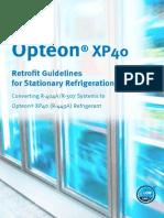 Opteon Xp40 Retrofit Guidelines