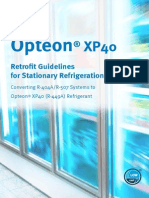 Opteon Xp40 Retrofit Guidelines