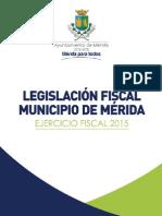 LEGISLACION MUNICIPIO MERIDA