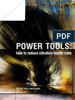 Powertools - How to Reduce Vibration Risks INDG338