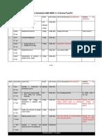 Course Schedule CAES9820 Sem 2 TueFri