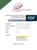 Tarea Grupal Tecnicas Procedimientos de Auditoria