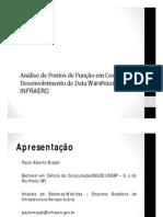 Análise de Pontos de Função Em Contratos de Desenvolvimento de Data Warehouses Na INFRAERO