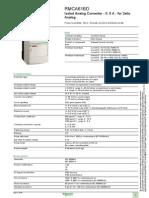 Zelio Analog RMCA61BD