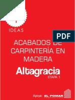 Dp Ideas - Portafolio Carpintería en Madera