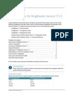 Ringmaster Release Version 7.7