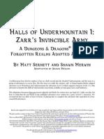 Undermountain halls pdf of