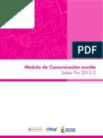 Guia de Orientacion Modulo de Comunicacion Escrita Saber Pro 2015 2 v2