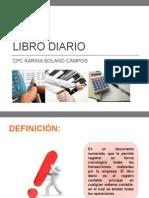 Libro Diario                    libro diario