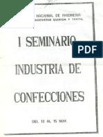 Seminario Industria Textil