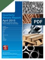 Sucden Financial Quarterly Report April 2015