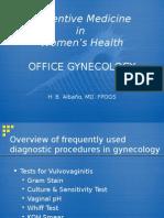 2.Preventive Gynecology