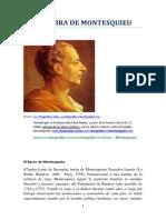 vida y Obra de Montesquieu