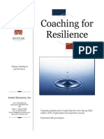 Coaching for Resilience - Article