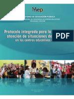Protocolo integrado para la Atención de Situaciones de Violencia en Instituciones de Secundaria