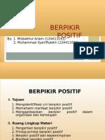 Presentasi Berpikir Positif