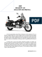 Honda Shadow VT 125(Prensa)