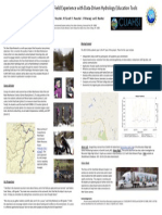 Combining Hands-on Field Experience with Data-Driven Hydrology Education Tools