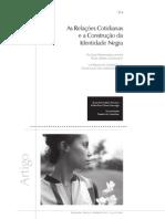 As relações cotidianas e a construção da identidade negra