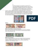 Monedas y Billetes de Centroamerica