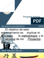 Project Kaizen Induction Material Para Imprimir