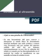 Introducción Al Ultrasonido