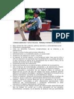 Consecuencias y Efectos Del Trabajo Intantil en Niños