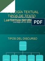 Presentacion Tipos de Textos