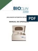 Manual Bioclin 2200 vs 02